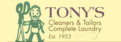 Tony's cleaners